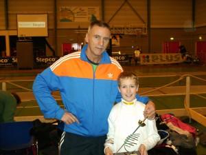 Randy Postma Nederlands Kampioen bij de Benjamins