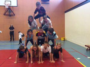 acro gymnastiek ASM